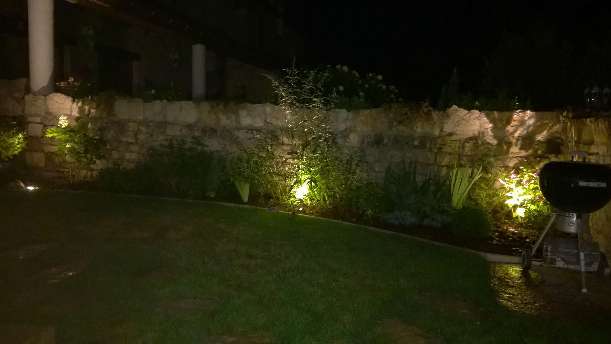 Eclairage de jardins Semur en Auxois